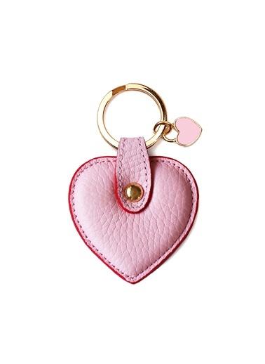 Deri Kalp Anahtarlık-Leather & Paper